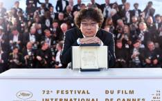 Cannes Film Festival 2019 Palme d'Or winner Bong Joon-Ho. Picture: @Festival_Cannes/Twitter
