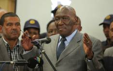 FILE: Police Minister Bheki Cele meeting with Bonteheuwel residents on 26 September 2018 to address their concerns following anti-gang violence protests. Picture: @SAPoliceService/Twitter