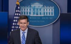 This file photo shows Former US National Security Advisor Mike Flynn speaking during the daily press briefing at the White House in Washington, DC, on 1 February, 2017. Picture: AFP