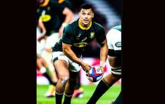 Embrose Papier will make his first Springbok start against Scotland at Murrayfield. @Springboks/Twitter