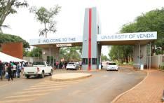 The main entrance to the University of Venda. Picture: University of Venda Facebook page