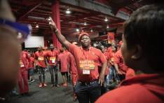 EFF members at the party's second elective conference in Nasrec on Saturday, 14 December 2019. Picture: Sethembiso Zulu/EWN