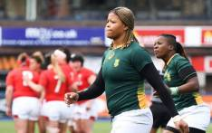 Coach Stanley Raubenheimer has announced the 2021 Women's Rugby World Cup squad. Picture: @WomenBoks/Twitter.