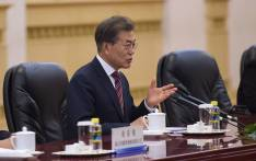 South Korean President Moon Jae-in. Picture: AFP
