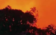 FILE: Fire crews combat bushfires in the blue mountains of Australia. Picture: Supplied.