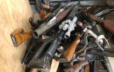 Police authorities also secured a local firearm shop, which was owned and operated by the suspect during their raid on a house in Centurion, Pretoria on 19 November 2019. Picture: SAPS