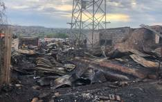 Alexandra residents are trying to salvage what is left after a fire swept through the informal settlement on 6 December 2018. Picture: EWN