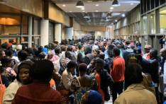 FILE: Hundreds of foreign nationals gathered at UN Refugee Agency offices in Cape Town on 8 October 2019, wanting the agency to help them leave SA. Picture: Kaylynn Palm/EWN