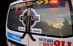 Netcare 911 ambulance. Picture: Twitter/@ArriveAlive.