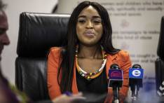 FILE: Cheryl Zondi, who has accused Nigerian televangelist Timothy Omotoso of rape, at the launch of her own foundation on 4 December 2018. Picture: Abigail Javier/EWN