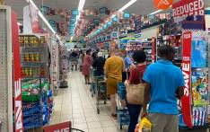 Shoppers at a Checkers in Centurion buying ahead of the lockdown. Picture: Supplied.