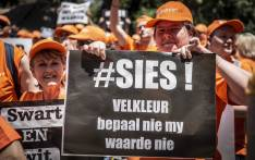 FILE: Hundreds of Solidarity Movement members marched to the JSE and Sasol's head office in Sandton on 25 October 2018. Picture: Abigail Javier/EWN