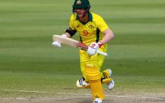 FILE: Australia batsman David Warner calls for a run. Picture: AFP