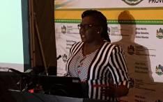 KwaZulu-Natal Health MEC Nomagugu Simelane-Zulu. Picture: Nkosikhona Duma/EWN.
