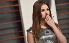 Selena Gomez attends the 2016 Vanity Fair Oscar Party. Picture: Getty Images/AFP.