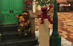 'Sesame Street' puppets Bert, Ernie (left) and Elmo (right). Picture: @SesameWorkshop/Twitter