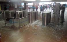 Prasa was forced on 19 November 2019 to close Johannesburg's Park Station after angry fired security staff allegedly damaged property. Picture: Supplied.