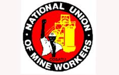 The National Union of Mineworkers (NUM) logo. Picture:  @NUM_Media /Twitter.