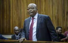 FILE: Former president Jacob Zuma in the Randburg Magistrates Court to support his son Duduzane on 26 October 2018. Picture: Thomas Holder/EWN