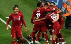 Liverpool's Virgil van Dijk (left) celebrates his side's goal in the UEFA Champions League match against Paris Saint-Germain on 18 September 2018. Picture: @LFC/Twitter