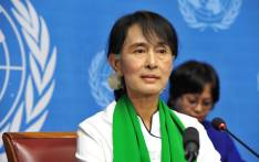 FILE: Aung San Suu Kyi departed on Sunday 8 December 2019 for the UN's top court in The Hague to defend Myanmar against charges of genocide of the Rohingya Muslims . Picture: United Nations Photo