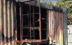 FILE: The remains of a shack after a fire. Picture: Lauren Isaacs/EWN