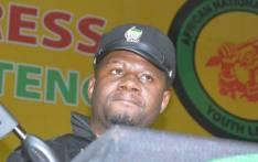 ANCYL treasure-general Reggie Nkabinde. Picture: EWN