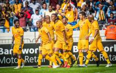 Kaizer Chiefs players celebrate a goal. Picture: @KaizerChiefs/Twitter