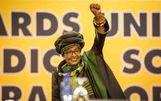 Late ANC stalwart Winnie Madikizela-Mandela inside the plenary at the party's 54th national conference on 16 December 2017. Picture: Thomas Holder/EWN