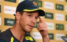 Australia cricket captain Tim Paine. Picture: AFP.