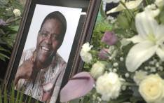 A portrait of Ladysmith Black Mambazo founder Dr Joseph Shabalala at his memorial service in Ladysmith on 18 February 2020. Picture: Xanderleigh Dookey/EWN.