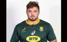 FILE: Uncapped flanker Cyle Brink has been withdrawn from the Springbok squad with a knee injury. Picture: Twitter/@Springboks.
