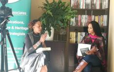 The Write Associates' Ashley Santos (R) facilitate a discussion with poet and author Natalia Molebatsi on 20 July 2019 in Randpark Ridge, Johannesburg. Picture: Winnie Theletsane/EWN.