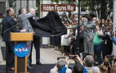 NASA on 12 June 2018 renamed the street outside its Washington headquarters to honour three black female mathematicians - Katherine Johnson, Dorothy Vaughan and Mary Jackson - whose pioneering work on the agency's early space programme was chronicled in the film 'Hidden Figures'. Picture: @NASA/Twitter.