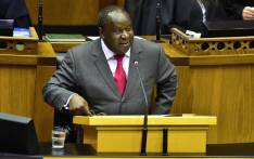 FILE: Finance Minister Tito Mboweni delivers his Medium-Term Budget Policy Statement on 24 October 2018 in Parliament. Picture: @ParliamentofRSA/Twitter