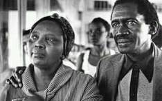 Mama Zondeni Sobukwe is seen with her late husband Robert in this undated file picture. Picture: @Sobukwe_Trust/Twitter