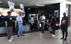 Lobby group #UniteBehind, along with frustrated train commuters, marched to Cape Town station demanding that Metrorail cleans up its act. Picture: EWN