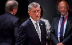 Czech Republic's Prime Minister Andrej Babis looks on prior to a European Council Summit at The Europa Building in Brussels, on 20 June 2019. Picture: AFP