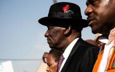 Police Minister Bheki Cele addresses community members in Jeppestown following unrest on 2 September 2019. Picture: Kayleen Morgan/EWN.