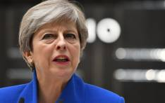 Britain's Prime Minister Theresa May makes a statement outside 10 Downing Street in central London on 9 June 2017. Picture: AFP.