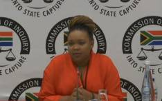 Moroadi Cholota, former Ace Magashule's secretary, at the state capture. Picture: YouTube.