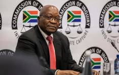 Former president Jacob Zuma appears at the Strate Capture Commission of Inquiry to give testimony on 15 July 2019. Picture: EWN