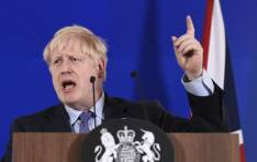 FILE: Britain's Prime Minister Boris Johnson addresses a press conference during an European Union Summit at European Union Headquarters in Brussels on 17 October 2019. Picture: AFP