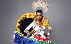 Miss South Africa Zozibini Tunzi's national costume for the upcoming Miss Universe pageant. Picture: @zozitunzi/Instagram