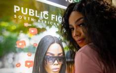 Bonang Matheba at the Johannesburg premiere of her first film Public Figure. Picture:Kayleen Morgan/EWN