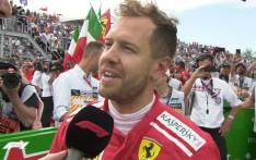 Sebastian Vettel. Picture: @F1/Twitter