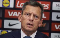 FILE: England's Football Association chief executive Martin Glenn takes part in a press conference at Wembley Stadium in London on 1 December 2016. Picture: AFP