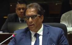 A screengrab of Sekunjalo chairperson Iqbal Surve giving testimony at the PIC inquiry on 3 April 2019.