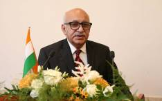 Indian minister MJ Akbar. Picture: @mjakbarofficial/Facebook.com.