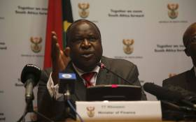 Finance Minister Tito Mboweni briefs the media ahead of the Medium Term Budget Policy Statement on 24 October 2018. Picture: Cindy Archillies/EWN